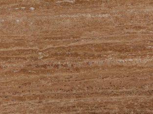 قیمت سنگ پلاک تراورتن شکلاتی یزد درجه دو عرض ۴۰cm[ ارم]