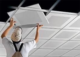 دستمزد نصب سقف کاذب PVC تایل ۶۰*۶۰ در شهرکرد[محمدی]