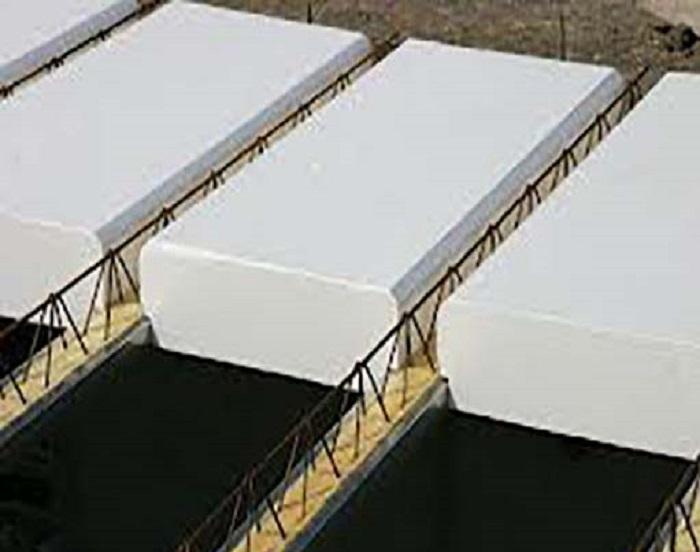 خرید یونولیت سقفی تیرچه پاشنه بتنی ۲۰۰*۵۰*۲۵ mm[پایتخت]