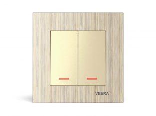 قیمت کلید دو پل مدل کریستال چوب افرا VEERA