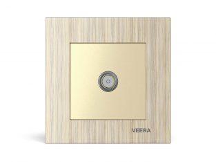 قیمت فیش آنتن مدل کریستال چوب افرا VEERA