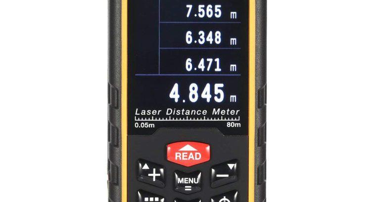 قیمت متر لیزری مدل Sndway SW-S80C[طول یاب]
