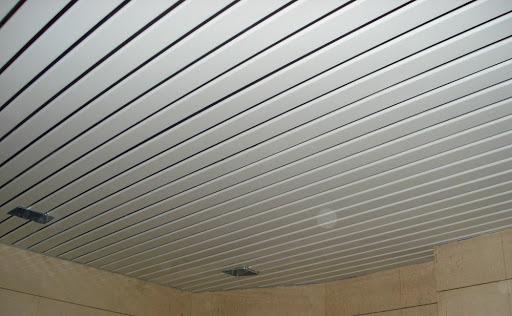 دستمزد تهیه و نصب سقف کاذب لوکسالون F150 در تهران – کدکن مبین سازه
