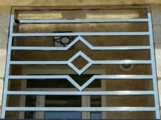 قیمت حفاظ پشت پنجره استیل ۳۰۴ آبگیناب