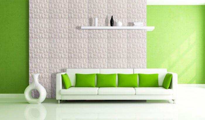 قیمت دیوارپوش چرمی سه بعدی با طرح Nobert