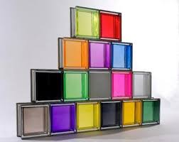 قیمت بلوک شیشه ای رنگی تزریقی ۱۹*۱۹