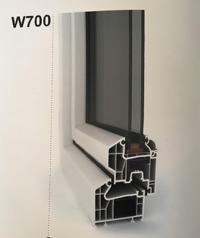 قیمت پروفیل خام پنجره دو جداره[ماهان]