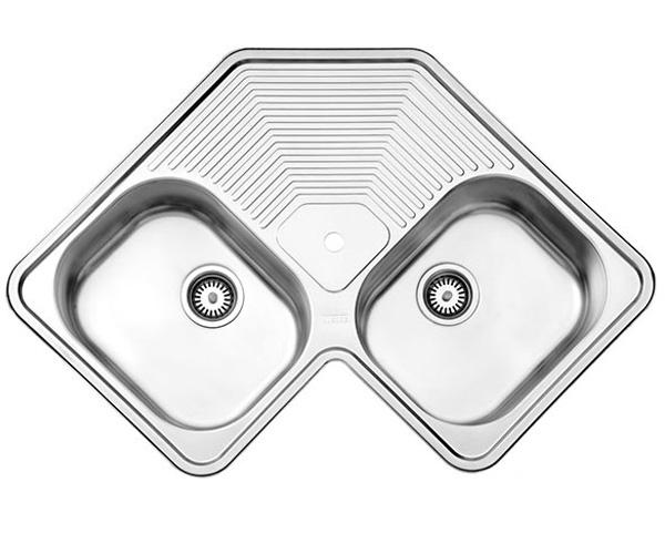 قیمت سینک ظرفشویی توکار استیل البرز مدل ۵۴۰