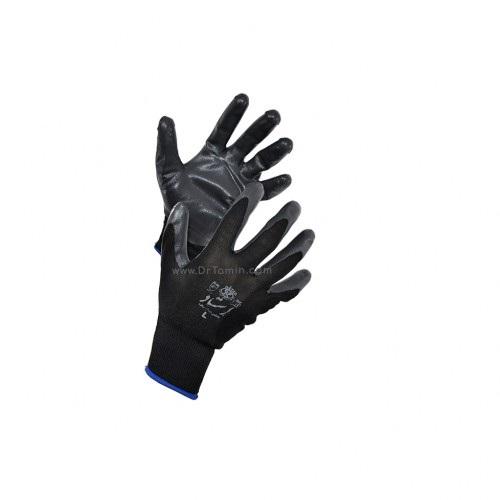 قیمت دستکش نخی بافته شده با روکش لاتکس استادکار