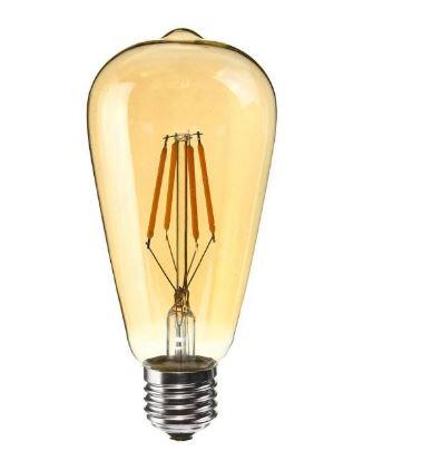 قیمت لامپ ال ای دی فیلامنتی ۴ وات آمیسا کد ST64