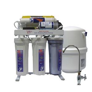 قیمت دستگاه تصفیه آب ۶ مرحله ای سافت واتر