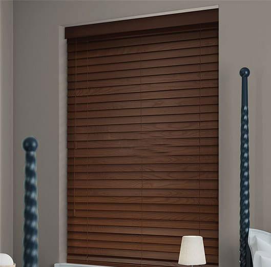 قیمت پرده کرکره چوبی زرشکی ۲.۵ سانتیمتری کد ۲۵۵