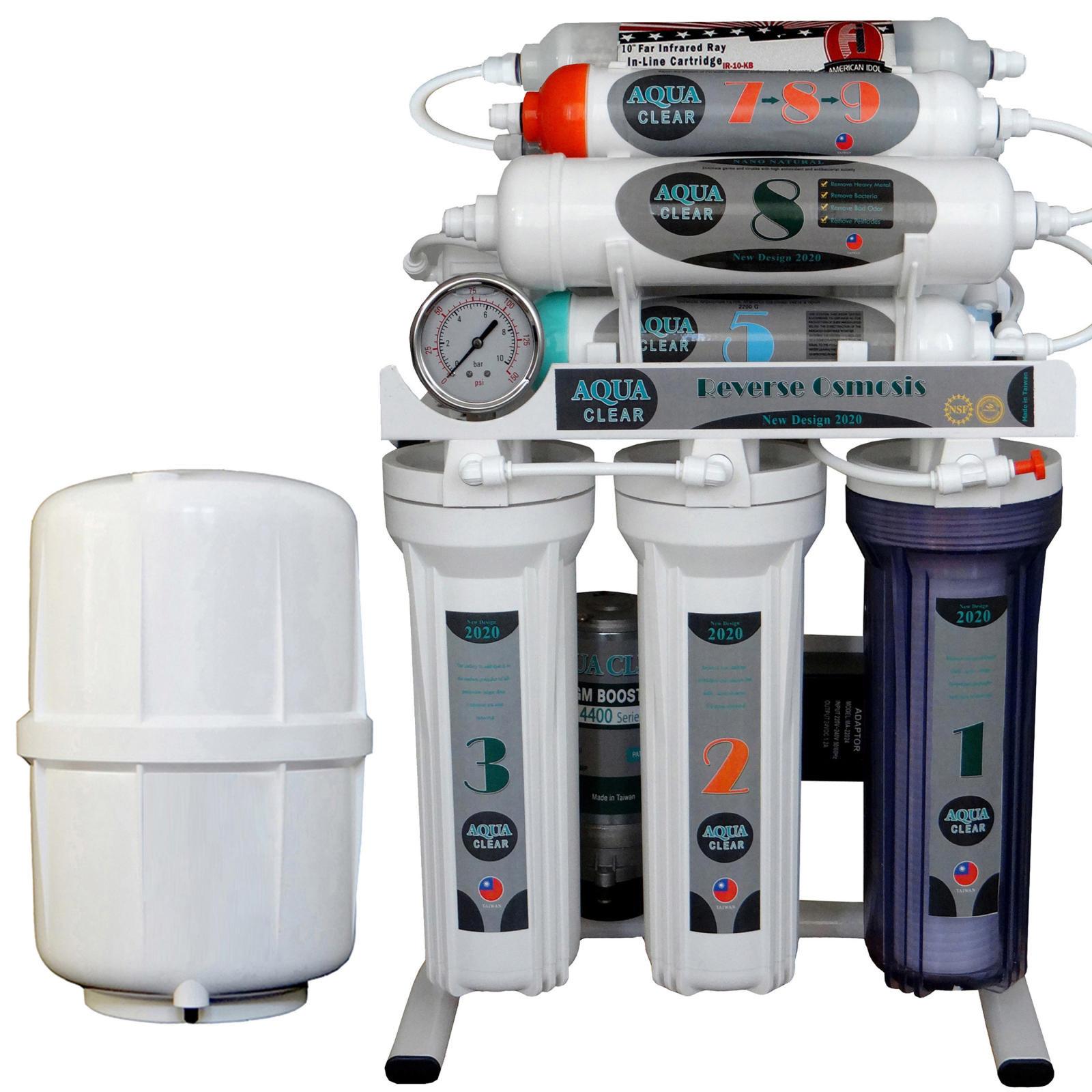 قیمت دستگاه تصفیه کننده آب آکوآ کلیر مدل NEWDESIGN