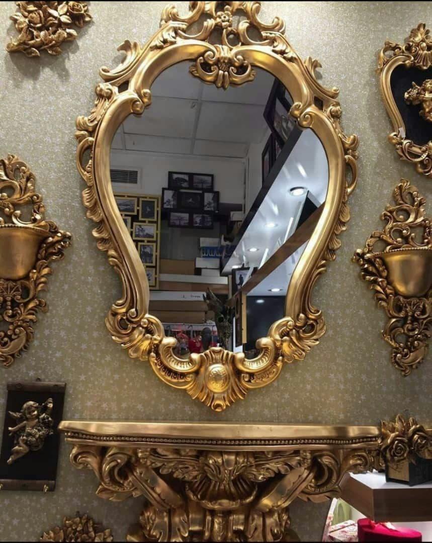قیمت ست آینه و کنسول و شمعدان زیبا