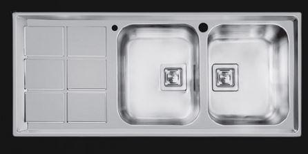 قیمت سینک ظرفشویی اخوان مدل ۵۰۰ توکار[جهان نما گستر]