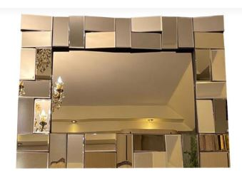قیمت آینه دکوراتیو مدل مارال -M2021