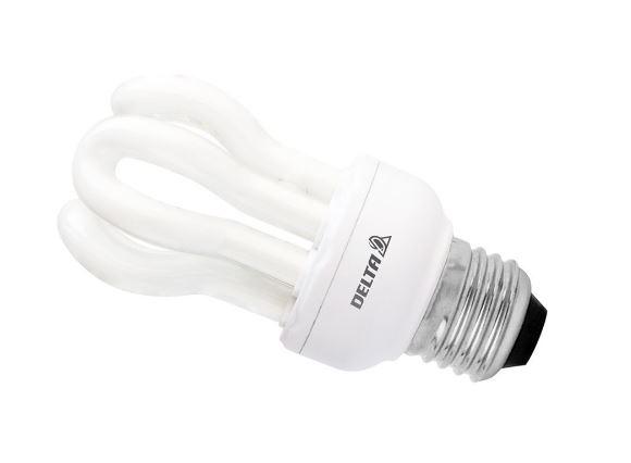 قیمت لامپ کم مصرف ۱۱ وات مدل لوتوس دلتا پایه E27
