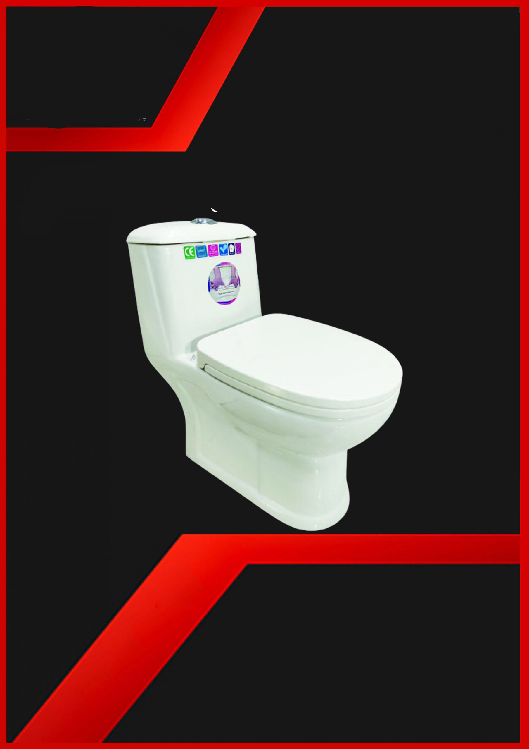 قیمت توالت فرنگی مروارید مدل ورونا[جها نما گستر]