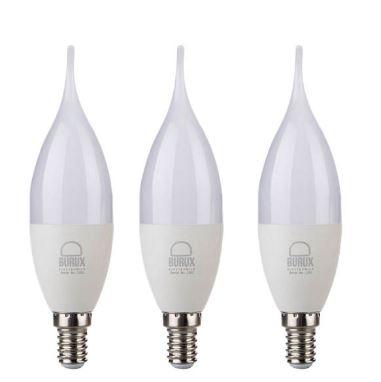 قیمت لامپ ال ای دی ۷ وات بروکس پایه E14 بسته ۳ عدد