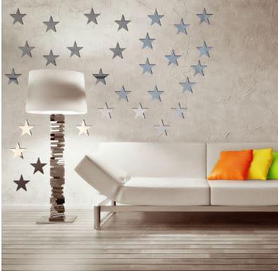 قیمت آیینه طرح ستاره کد E03