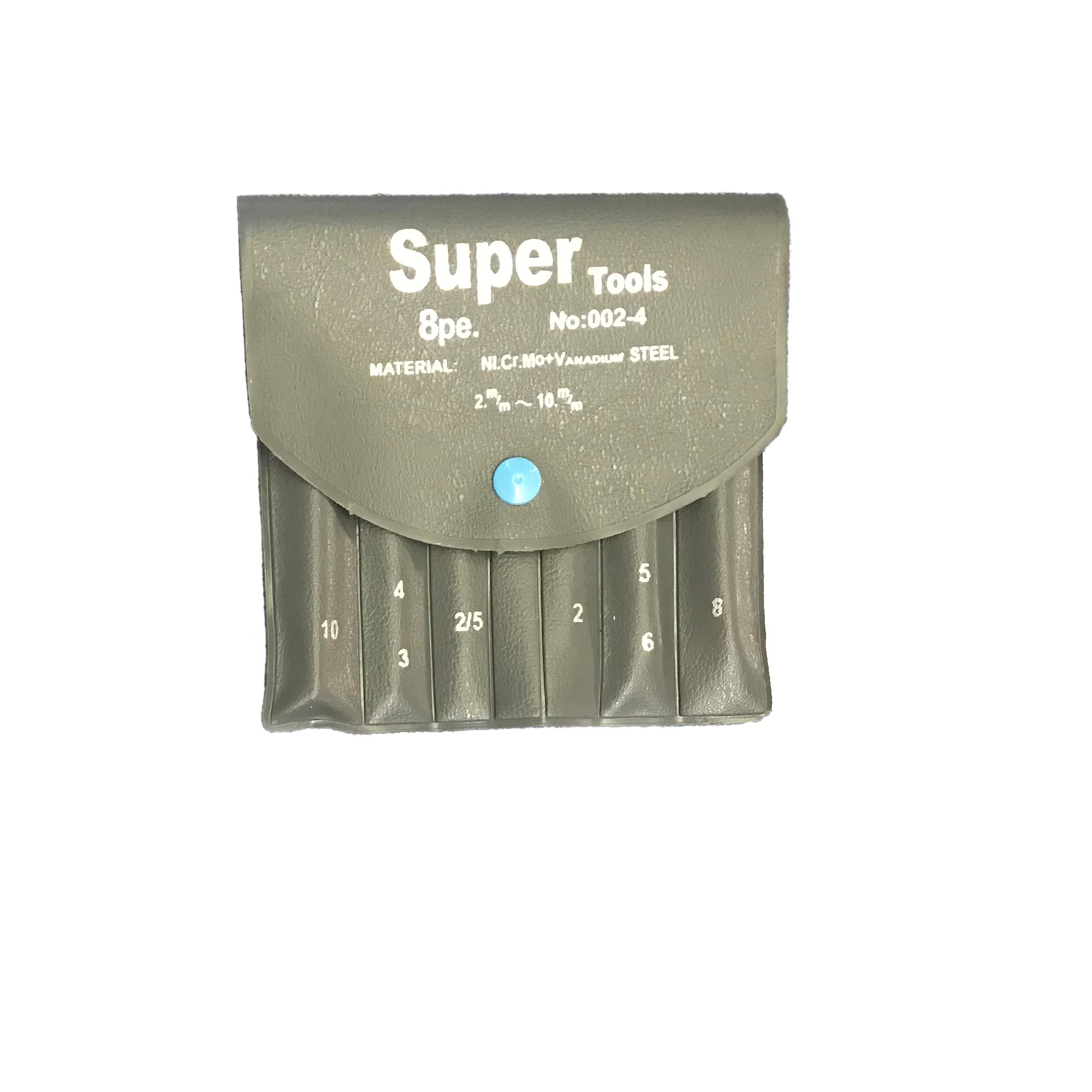 قیمت مجموعه ۸ عددی آچار آلن سوپرتولز مدل QR-X1